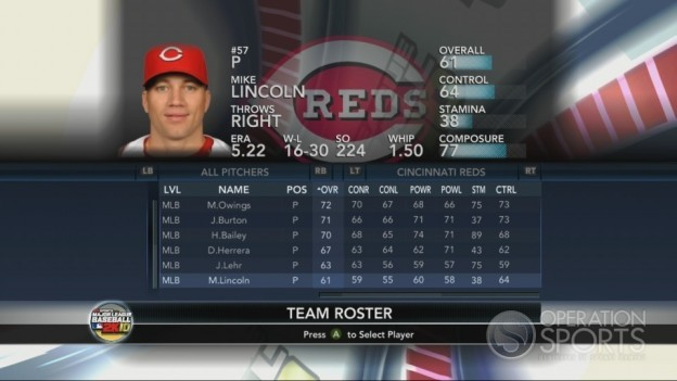 Major League Baseball 2K10 Screenshot #100 for Xbox 360