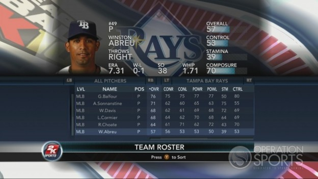 Major League Baseball 2K10 Screenshot #110 for Xbox 360