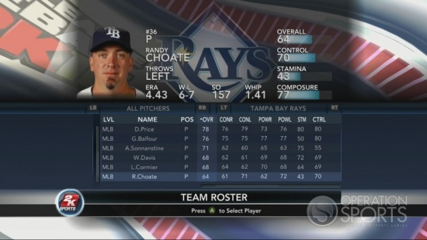 Major League Baseball 2K10 Screenshot #111 for Xbox 360