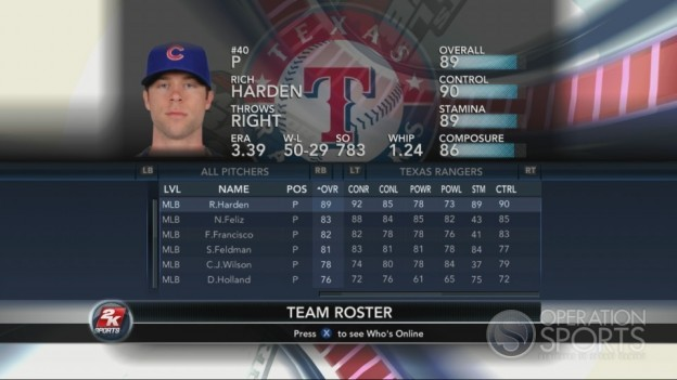 Major League Baseball 2K10 Screenshot #117 for Xbox 360