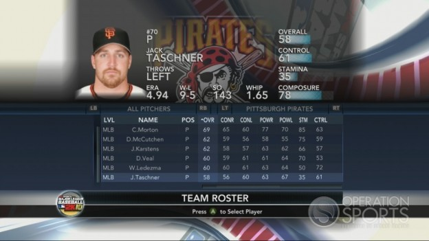 Major League Baseball 2K10 Screenshot #120 for Xbox 360