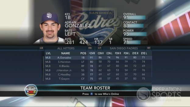 Major League Baseball 2K10 Screenshot #134 for Xbox 360