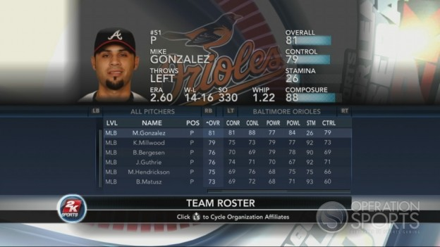Major League Baseball 2K10 Screenshot #136 for Xbox 360
