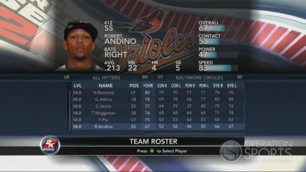 Major League Baseball 2K10 Screenshot #138 for Xbox 360