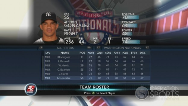 Major League Baseball 2K10 Screenshot #143 for Xbox 360