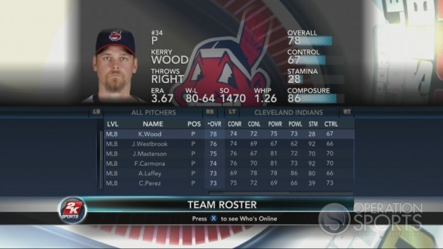 Major League Baseball 2K10 Screenshot #161 for Xbox 360