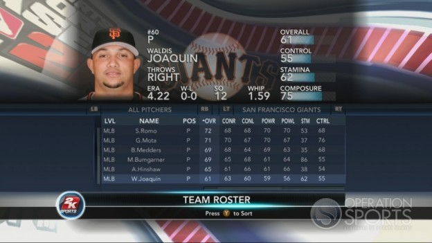Major League Baseball 2K10 Screenshot #165 for Xbox 360