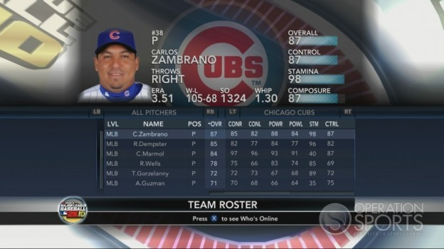 Major League Baseball 2K10 Screenshot #181 for Xbox 360