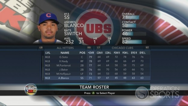 Major League Baseball 2K10 Screenshot #183 for Xbox 360