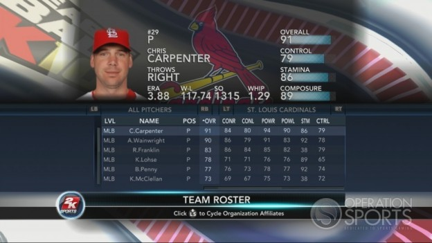 Major League Baseball 2K10 Screenshot #187 for Xbox 360