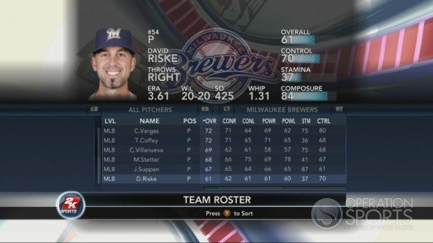 Major League Baseball 2K10 Screenshot #190 for Xbox 360