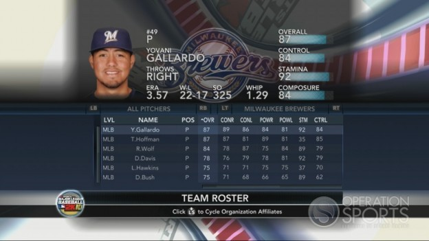 Major League Baseball 2K10 Screenshot #191 for Xbox 360