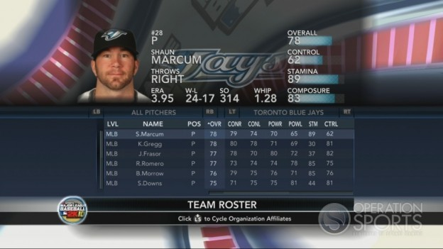 Major League Baseball 2K10 Screenshot #201 for Xbox 360