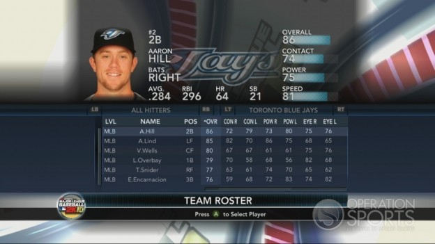 Major League Baseball 2K10 Screenshot #204 for Xbox 360