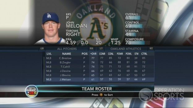 Major League Baseball 2K10 Screenshot #205 for Xbox 360