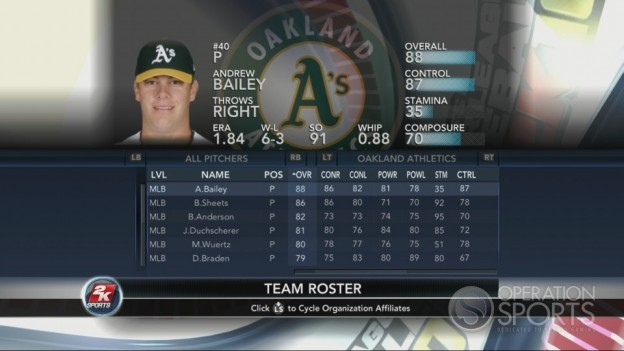 Major League Baseball 2K10 Screenshot #206 for Xbox 360