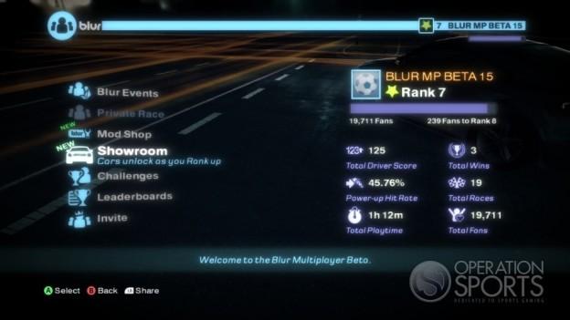 Blur Screenshot #9 for Xbox 360