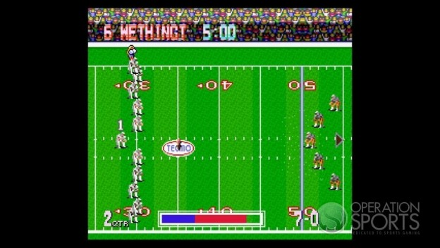 Tecmo Bowl Throwback Screenshot #14 for Xbox 360