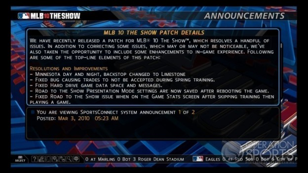 MLB '10: The Show Screenshot #114 for PS3
