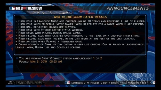 MLB '10: The Show Screenshot #115 for PS3