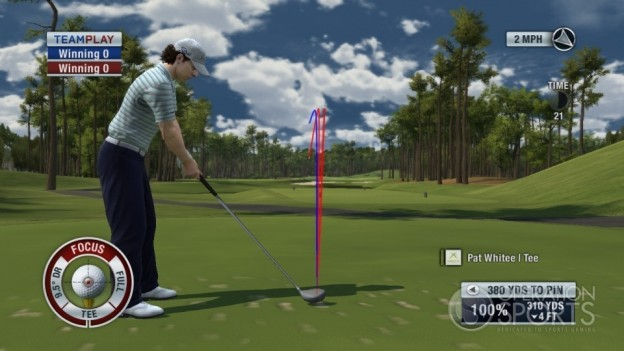 Tiger Woods PGA TOUR 11 Screenshot #6 for Xbox 360