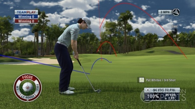 Tiger Woods PGA TOUR 11 Screenshot #7 for Xbox 360