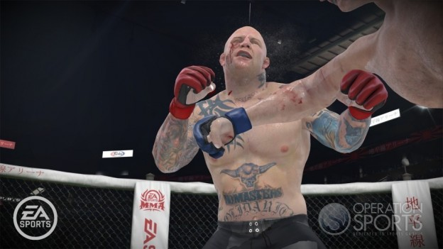 EA Sports MMA Screenshot #15 for Xbox 360