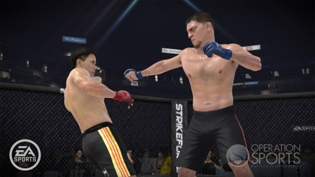 EA Sports MMA Screenshot #19 for Xbox 360