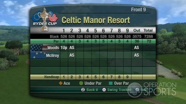 Tiger Woods PGA TOUR 11 Screenshot #5 for Wii