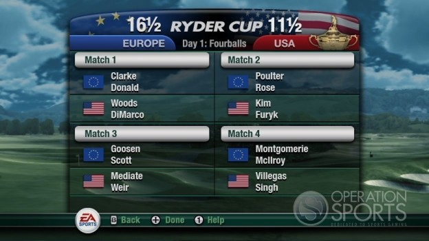 Tiger Woods PGA TOUR 11 Screenshot #7 for Wii