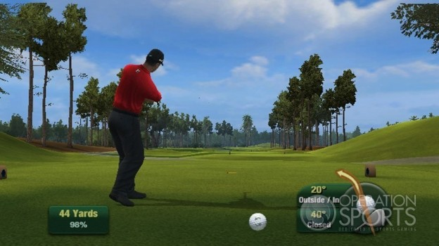 Tiger Woods PGA TOUR 11 Screenshot #9 for Wii