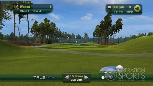 Tiger Woods PGA TOUR 11 Screenshot #11 for Wii