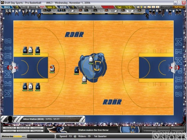 Draft Day Sports: Pro Basketball Screenshot #1 for PC