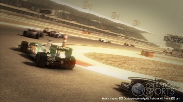 F1 2010 Screenshot #1 for Xbox 360