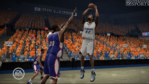 NCAA March Madness 07 Screenshot #1 for Xbox 360