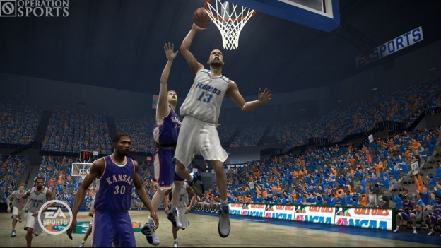 NCAA March Madness 07 Screenshot #2 for Xbox 360