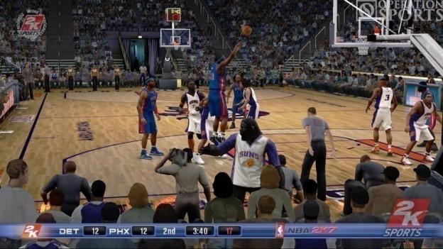 NBA 2K7 Screenshot #2 for Xbox 360