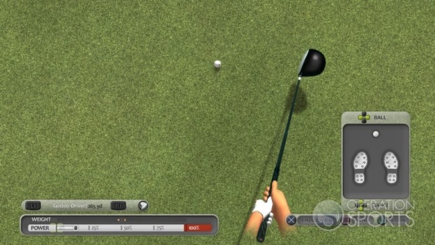 ProStroke Golf: World Tour Screenshot #1 for PS3