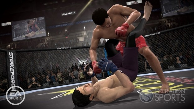 EA Sports MMA Screenshot #13 for PS3