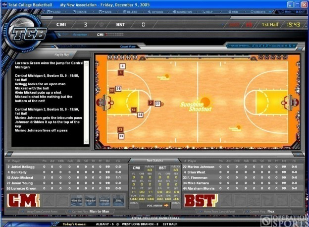Total College Basketball Screenshot #2 for PC