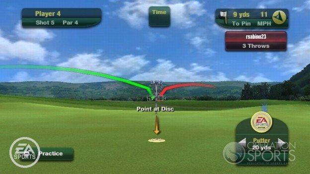 Tiger Woods PGA TOUR 11 Screenshot #14 for Wii