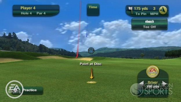 Tiger Woods PGA TOUR 11 Screenshot #16 for Wii