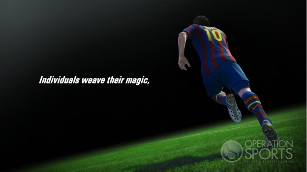 Pro Evolution Soccer 2011 Screenshot #3 for Xbox 360