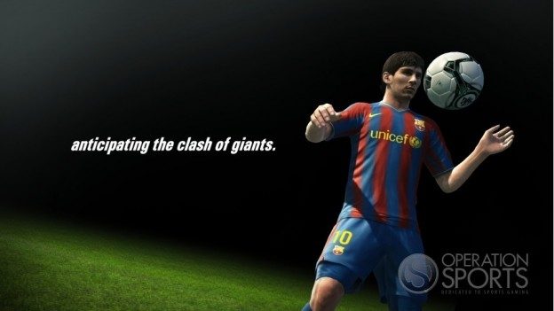 Pro Evolution Soccer 2011 Screenshot #1 for PS3