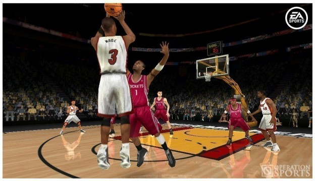 NBA Live 06 Screenshot #1 for PSP