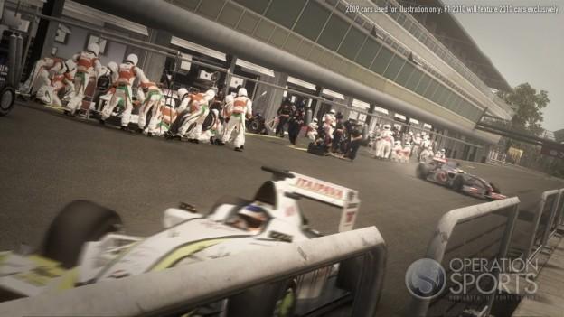 F1 2010 Screenshot #9 for Xbox 360