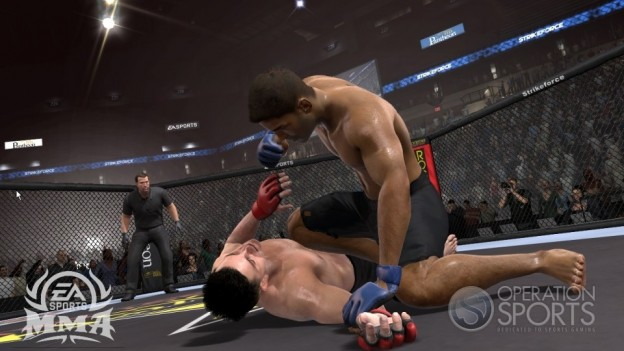 EA Sports MMA Screenshot #39 for Xbox 360