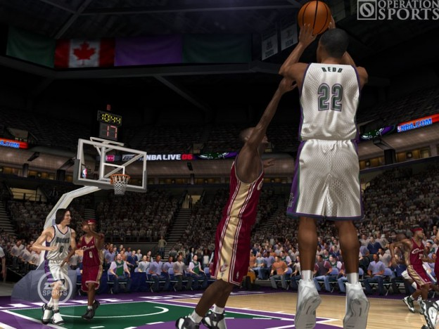 NBA Live 06 Screenshot #1 for Xbox