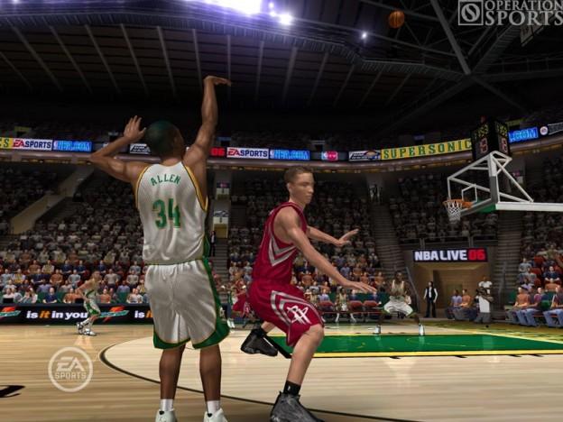 NBA Live 06 Screenshot #2 for Xbox