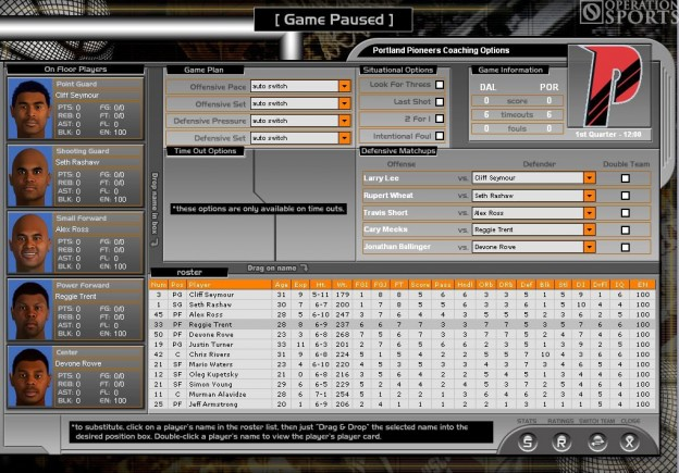 Total Pro Basketball 2005 Screenshot #2 for PC